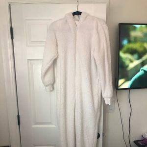 fuzzy snowman pajamas